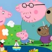 Свинка Пеппа ищет звездочки
