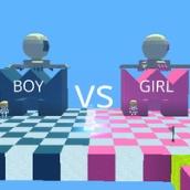 Игра Паркур Малчьики против Девочек: Когама
