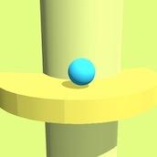Игра Прыжки шарика Хеликс