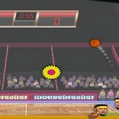 Баскетбольные головы на двоих