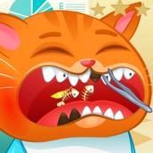 Игра Котик Бубу у Стоматолога: Пазл