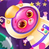 Игра Котик Бубу в космосе: Пазл