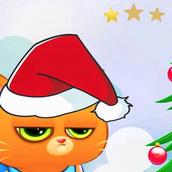 Игра Котик Бубу грустит на Новый Год: Пазл