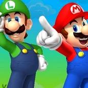 Игра Марио и Луиджи на двоих