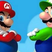 Игра Бродилка Марио на двоих