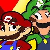 Игра Побег Марио и Луиджи на двоих