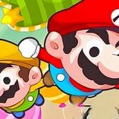 Игра Марио в конфетном доме на двоих