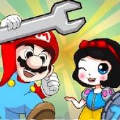 Игра Марио в гробнице на двоих