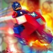 Игра Лего Капитан Америка