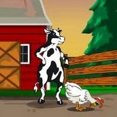 Игра Побег коровы