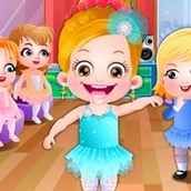 Игра Танец балерины: Малышка Хейзел