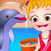 Игра Дельфинарий: Малышка Хейзел