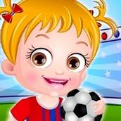 Игра Спортивный день: Малышка Хейзел