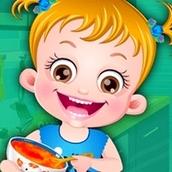 Игра Развлечения на кухне: Малышка Хейзел
