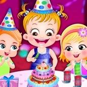 Игра Вечеринка в честь дня рождения: Малышка Хейзел