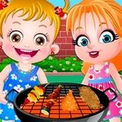 Игра Садовая вечеринка: Малышка Хейзел