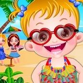 Игра Пляжная вечеринка: Малышка Хейзел
