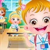 Игра Школьная гигиена: Малышка Хейзел