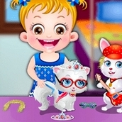 Игра Вечеринка домашних животных: Малышка Хейзел