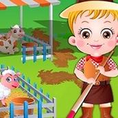 Игра Тур на ферму: Малышка Хейзел