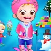 Игра Зимние развлечения: Малышка Хейзел