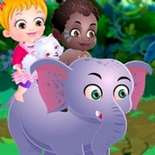 Игра Африканское сафари: Малышка Хейзел