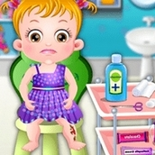 Игра Травма ноги: Малышка Хейзел