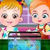 Игра Золотая рыбка: Малышка Хейзел