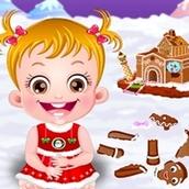 Игра Пряничный домик: Малышка Хейзел