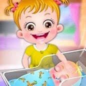 Игра Новорожденный братик: Малышка Хейзел
