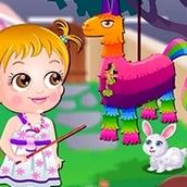Игра Вечеринка на заднем дворе: Малышка Хейзел