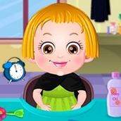Игра Уход за волосами: Малышка Хейзел