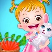 Игра Уход за животными: Малышка Хейзел
