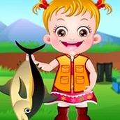 Игра Время рыбалки: Малышка Хейзел
