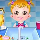 Игра Гигиена и уход: Малышка Хейзел