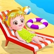 Игра Отдыхаем на пляже: Малышка Хейзел