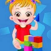 Игра Учим фигуры: Малышка Хейзел