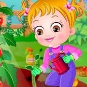 Игра Приключения в саду: Малышка Хейзел