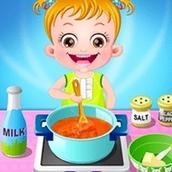 Игра Приключения на кухне: Малышка Хейзел