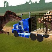 Игра Перевозка динозавров