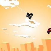 Помоги Человеку-пауку Бэтменом