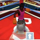 Игра Онлайн турнир по боксу 3Д