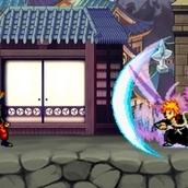 Аниме-битва Лаффи против Наруто