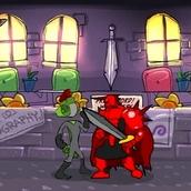 Игра Рыцарь в красных доспехах
