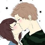 Игра Романтичный поцелуй героев аниме