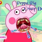 Игра Свинка Пеппа на приеме у стоматолога
