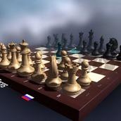 Игра Шахматы на двоих 3Д