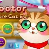 Игра Говорящий кот Том 8: восстанавливаем слух